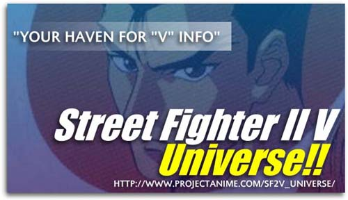 Street Fighter II V Universe